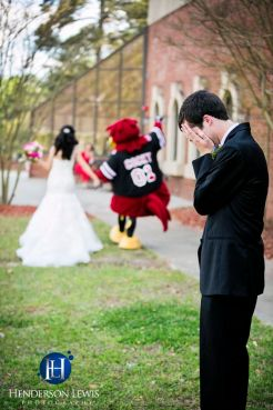 Football Wedding 16