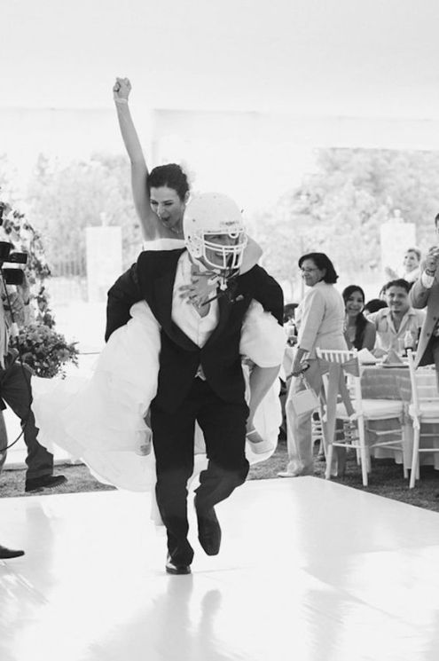 Football Wedding 4