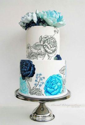 Handpainted Cake 2