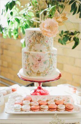 Handpainted Cake 4