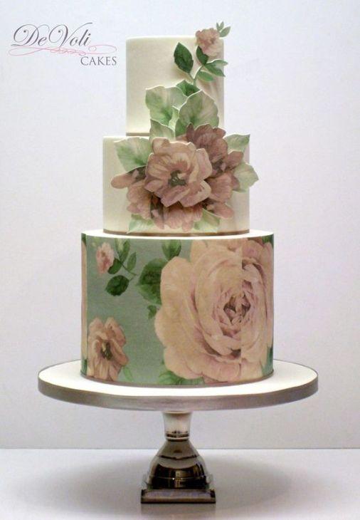 Handpainted Cake 5