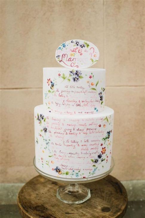 Handpainted Cake 6