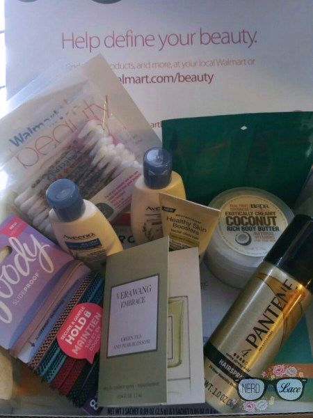 Walmart Beauty Box 2