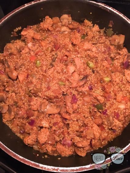 Chicken Sausage & Veggie Quinoa 6