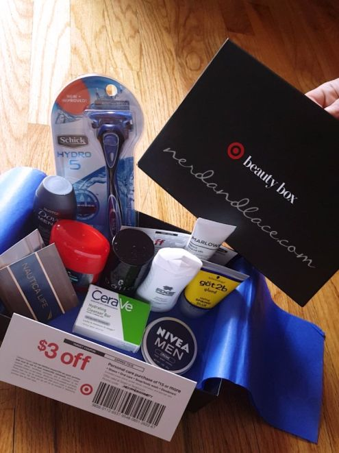 Target Male Beauty Box