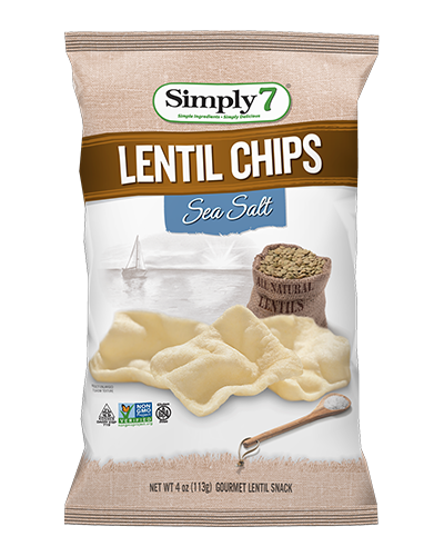 Simply7 Lentil Chip - Sea Salt