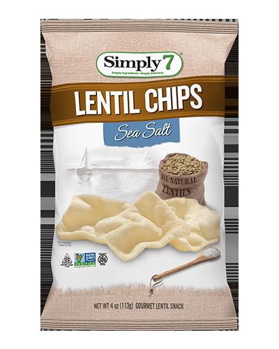 Simply7 Lentil Chip - Sea Salt