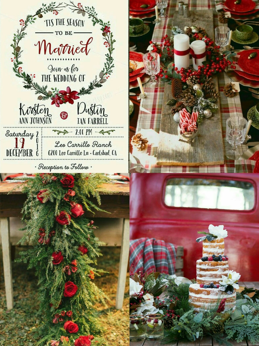 rustic-plaid-christmas-wedding-3