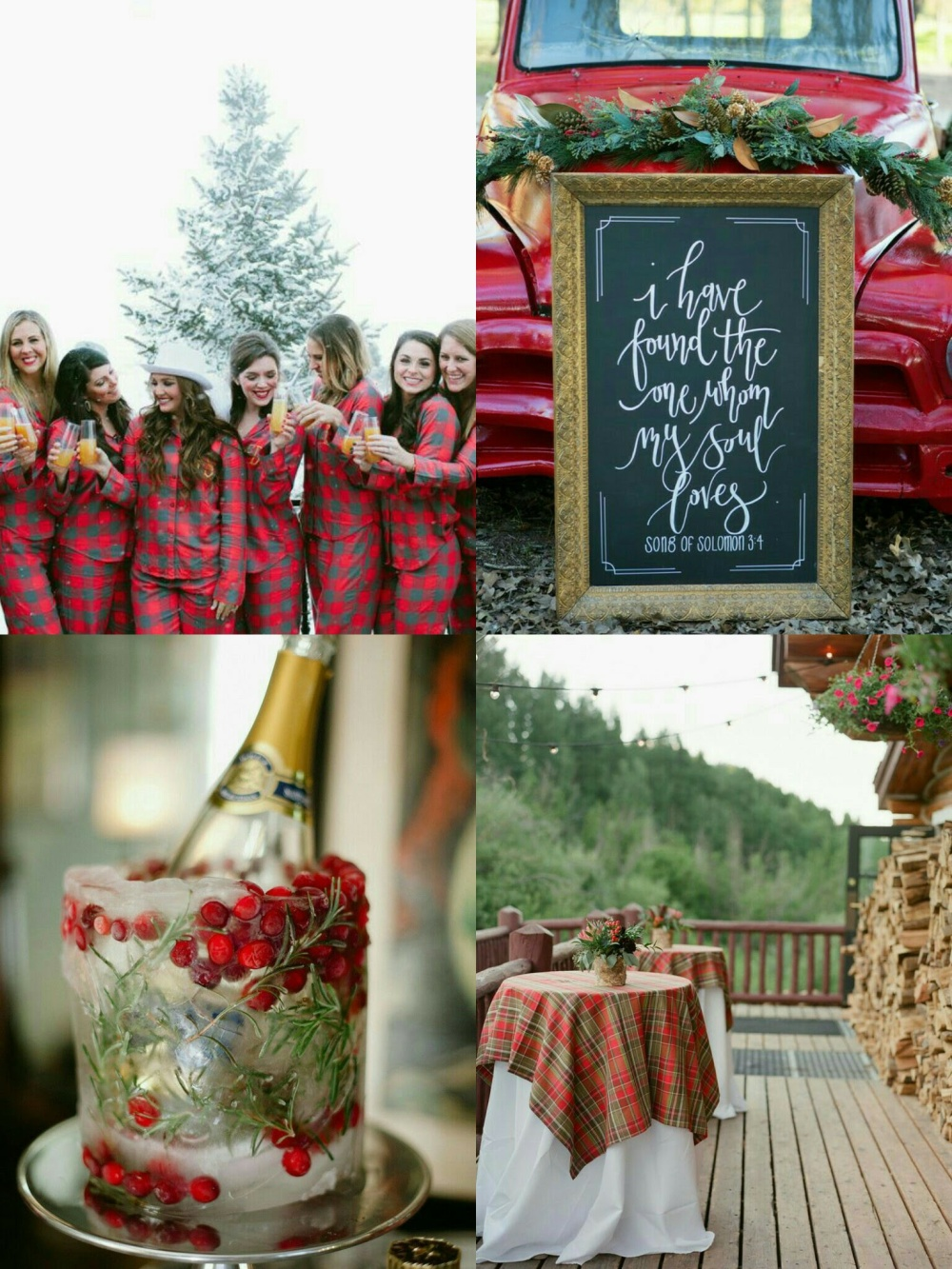 rustic-plaid-christmas-wedding-4