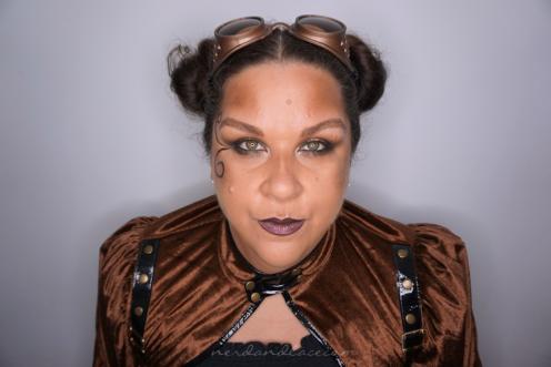 Steampunk Makeup 4
