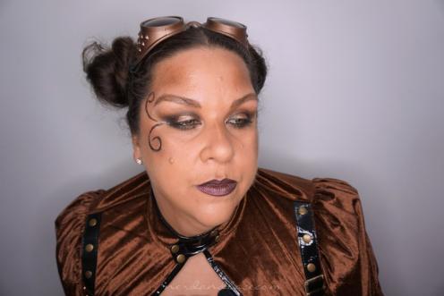 Steampunk Makeup 6