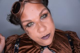 Steampunk Makeup 9