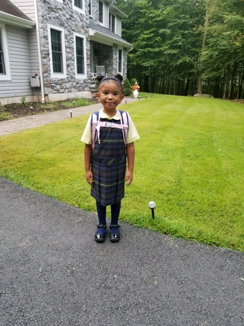 Kenzie's First Day of School