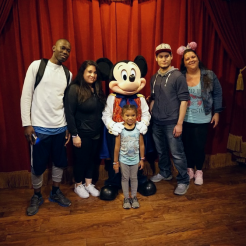 Mickey and Fam March 2018